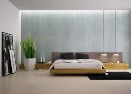 Minimalist Platform Bed For Feng Shui
