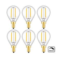omaykey 2w dimmable led filament bulb 2700k warm white 20w