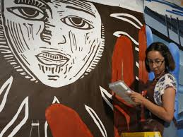 Big Ang Mural Unveiling by Student Mural Commemorates Milwaukee U0027s Rich History Of Migrant