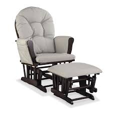 100 Reclining Rocking Chair Nursery Recliner With Ottoman Glider Baby Rocker