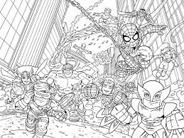 Free Superhero Squad Coloring Pages