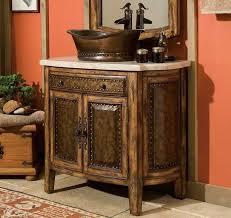 Rustic Bathroom Vanity Design Ideas