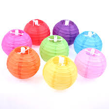50pcs 4inch 10cm Chinese Handcraft Paper Lanterns For Wedding Festival Party DIY Decor Ball Lampion Backdrop Outdoor In From Home