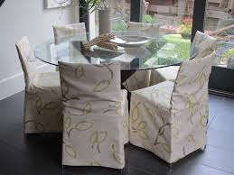 Shabby Chic Dining Room Chair Covers by Decor Cozy Shabby Chic Slipcovers For Inspiring Interior