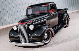 100 Chevy Hot Rod Truck A 1939 Pickup That Mixes Themes With Great Results