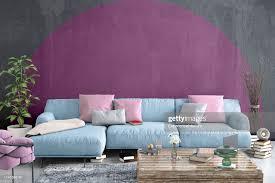 modernes nordisches wohnzimmer mit sofa und vielen details