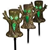 Halloween Pathway Lights Stakes by Amazon Com Halloween Spooky Trees Light Up Lawn Stakes Pathway