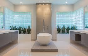 Modern Master Bathroom Images by Memorial Modern Master Bath Remodel Houston Tx 2015