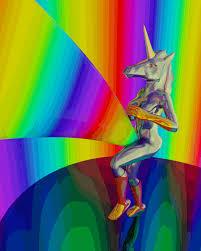 Unicorn Vagina Rainbow See