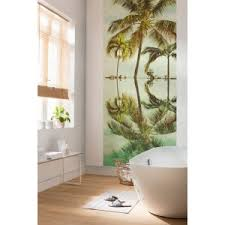 digitaldrucktapete palmen strandflair 250x100cm
