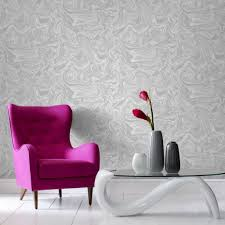 Grey And Purple Living Room Wallpaper by Marbled Grey And White Wallpaper Graham U0026 Brown