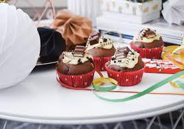 kinderschokolade muffins torte mehr für kindergeburtstag