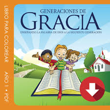 Libro Para Colorear Año 1 En PDF Licencia Anual Generations Of Grace