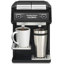FlexBrewR Coffee Maker Dual Single Serve Black 49998