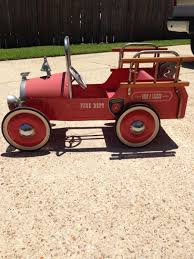 100 Antique Fire Truck Pedal Car Find More Vintage For Sale At Up To 90 Off