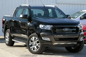 2018 Ford Ranger Wildtrak Double CAB PX Mkii MY18 (Shadow Black) For ...