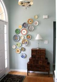 Best 25 Plate Wall Decor Ideas On Pinterest Dining Plates Pertaining To Decorative Idea 12