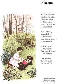 maurice carême berceuse la lanterne magique poèmes
