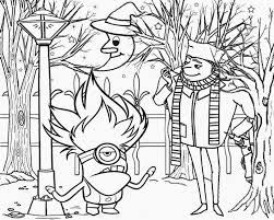 Free Printable Evil Minion Coloring Pages
