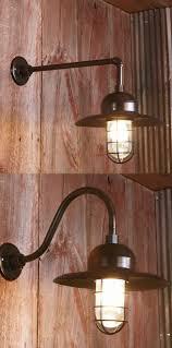 light gooseneck wall mount light gold swing arm l