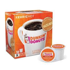 KeurigR K CupR Pod Dunkin Donuts Hazelnut Coffee