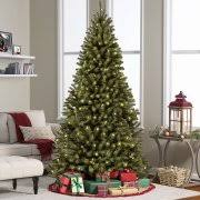 Pre Lit Pencil Cashmere Christmas Tree by Cashmere Artificial Tree