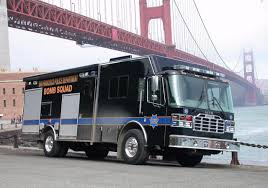 100 Truck San Francisco CA PD Bomb Squad Mobile Command POLICE BOMB