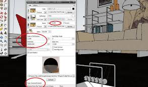 Floor Materials For 3ds Max by Interior Scene With Twilight Render Sketchup 3d Rendering