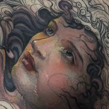 A Face Like An Angel Portrait Tattoos For Tattoo Of The Day