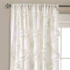 Lush Decor Serena Window Curtain by Best Picture Of White Ruffled Curtains All Can Download All