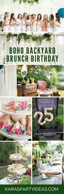 Kara's Party Ideas Boho Backyard Brunch Birthday Party | Kara's ... Backyard Birthday Party Ideas For Kids Exciting Backyard Ideas Domestic Fashionista Summer Birthday Party Best 25 Parties On Pinterest Girl 1 Year Backyards Mesmerizing Decorations Photo Appealing Catholic All How We Throw A Movie Night Pear Tree Blog Elegant Games Adults Architecturenice Parties On Water