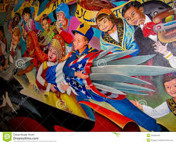 Denver International Airport Murals Painted Over by Children Of The World Dream Of Peace Editorial Photography Image
