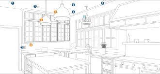 surprising kitchen lighting design layout