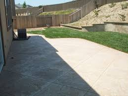 Stamped Concrete   Backyard   Pinterest   Stamped Concrete ... Best 25 Sloped Backyard Landscaping Ideas On Pinterest A Possibility For Our Landslide The Side Of House How To Landscape A Sloping Backyard Diy Design Ideas On Hill Izvipicom Around Deck Gray Trending Garden Quiet Corner Sixprit Decorps 845 Best Outdoor Images Living Landscaping Debra Kraft Aging In Place Garden Archives In Day Designs Uphill With Slope Step By Steps And Stairs Timbers