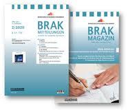 Brak Mitteilungen Bundesrechtsanwaltskammer Brak Mitteilungen Brak Magazin