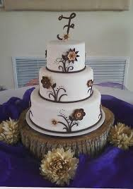 Rustic Cakes For A Bridal Shower