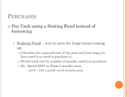 Sinking Fund Calculator Weekly by S Avings L Earning O Utcomes Section 1 An Exercise Of Character