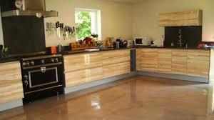 béton ciré sol cuisine cuisine beton cire bois douane cuisine beton cire bois idées