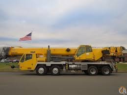 Grove TMS800E, 80 Ton Truck Crane, Full Power Boom System(Simple ...