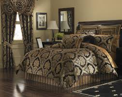 J Queen New York Marquis Curtains by J Queen New York Coventry Queen Comforter Set In Brown Upc