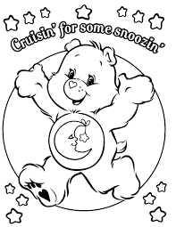 Coloring Page Panda Bear Printable Pages Care Bears Pictures Of Gummy