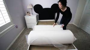LUCID 10 Inch Plush Memory Foam Mattress Unboxing and Review