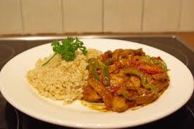idee cuisine rapide recette du poulet sauce curry facile et rapide