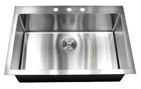 33x22 stainless steel kitchen sink undermount 33 inch topmount drop in stainless steel kitchen sink package