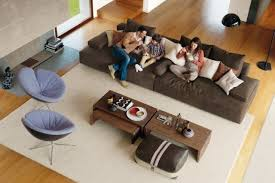 moderne möbel im wohnzimmer design sofa und armsessel