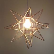 Moravian Star Ceiling Light Fixture Pendant Diy Geometric Oof That39s A Mouth Full