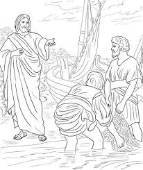 Jesus Calls The First Disciples Coloring Page From Mission Period Category Select 24848 Printable Crafts Of Cartoons Nature Animals Bible And