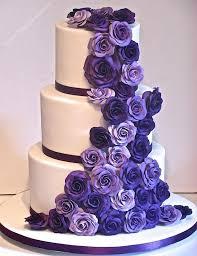 Classic cadbury purple wedding cake by Ellie Ellie s Elegant