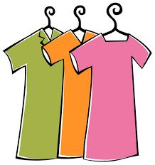 Clip Art Girl Clothes Clipart