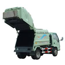 China Rubbish Truck For Garbage Collecting - China Refuse Collector ...
